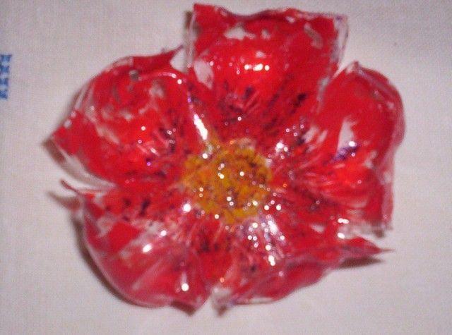 Fleurs en plastique - Fleur bouteille plastique ...